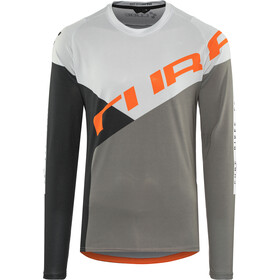 Cube Edge Round Neck Jersey longsleeve Men grey